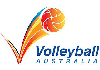 VOLLEYBALL AUSTRALIA LOGO