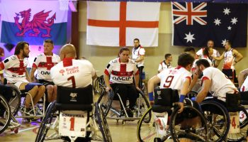 Rugby League Wheelchair World Cup France 2017, match between Australia and England (80-26) in St-Jory, on July 24th, 2017 - Photo Manuel Blondeau / ALeA